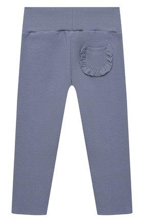 Детские хлопковые брюки TARTINE ET CHOCOLAT синего цвета, арт. TS24021/18M-3A | Фото 2