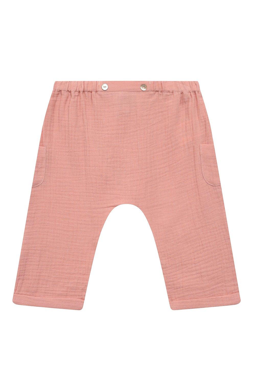 Детские хлопковые шорты TARTINE ET CHOCOLAT розового цвета, арт. TS26051/1M-1A   Фото 1