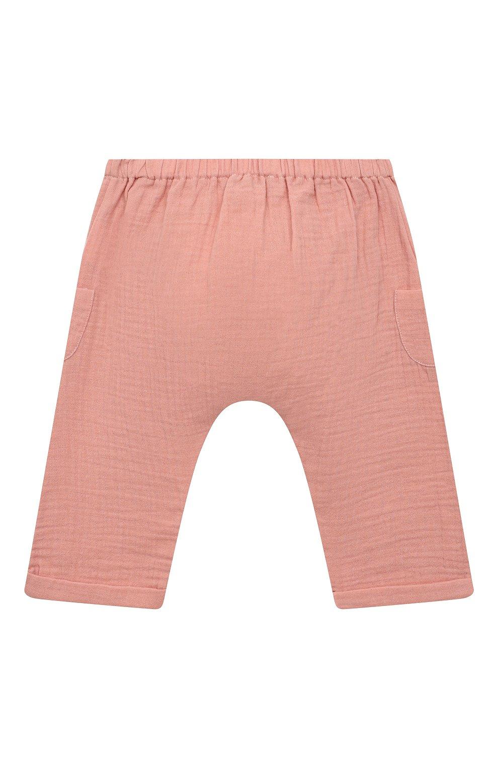 Детские хлопковые шорты TARTINE ET CHOCOLAT розового цвета, арт. TS26051/1M-1A   Фото 2