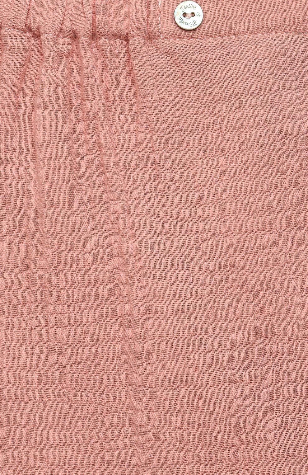 Детские хлопковые шорты TARTINE ET CHOCOLAT розового цвета, арт. TS26051/1M-1A   Фото 3