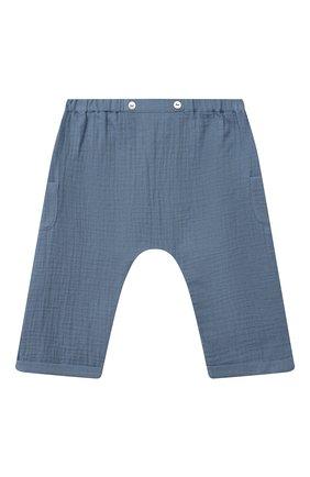 Детские хлопковые шорты TARTINE ET CHOCOLAT синего цвета, арт. TS26051/18M-3A | Фото 1