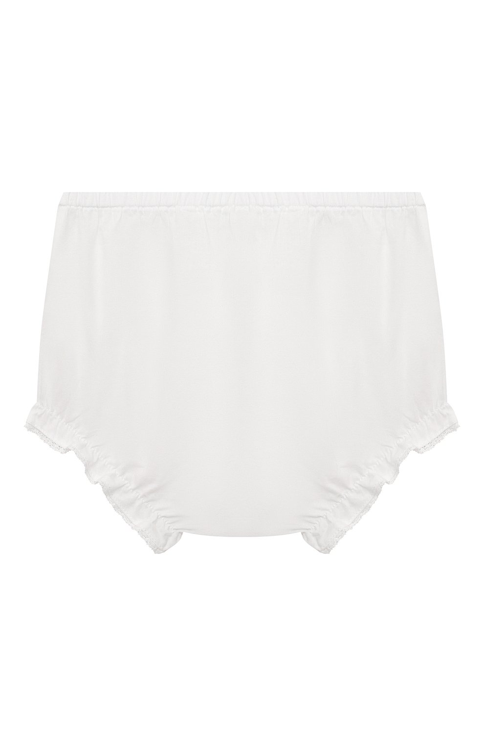 Детские хлопковые шорты TARTINE ET CHOCOLAT белого цвета, арт. TS26071/1M-1A | Фото 2