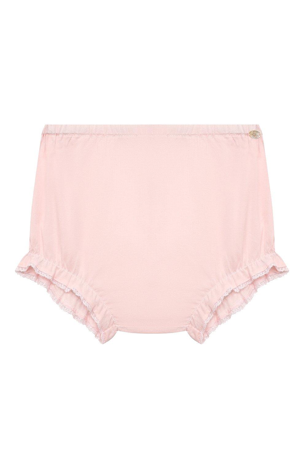 Детские хлопковые шорты TARTINE ET CHOCOLAT светло-розового цвета, арт. TS26071/1M-1A | Фото 1