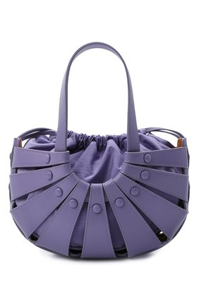 Женская сумка shell small BOTTEGA VENETA сиреневого цвета, арт. 651819/VMAUH | Фото 1