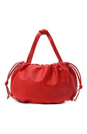 Женская сумка the medium bulb BOTTEGA VENETA красного цвета, арт. 651812/VCP40   Фото 1