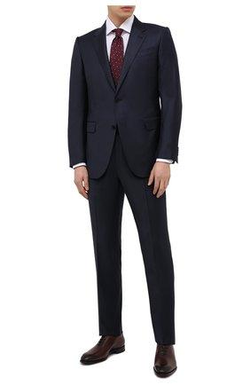 Мужские кожаные оксфорды ANTONIO MAURIZI коричневого цвета, арт. 4519-N/0LD WEST | Фото 2