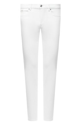 Мужские джинсы Z ZEGNA белого цвета, арт. VW739/ZZ510   Фото 1