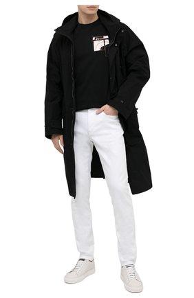 Мужские джинсы Z ZEGNA белого цвета, арт. VW739/ZZ510   Фото 2