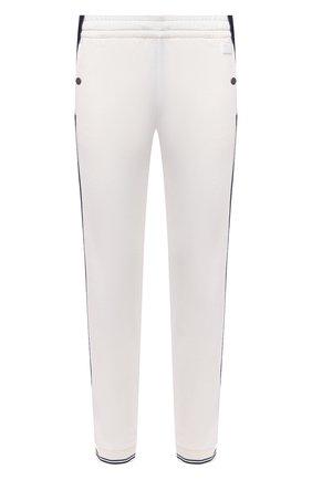 Мужские шерстяные джоггеры Z ZEGNA белого цвета, арт. VW470/ZZTP08 | Фото 1 (Силуэт М (брюки): Джоггеры; Длина (брюки, джинсы): Стандартные; Стили: Спорт-шик; Материал внешний: Шерсть; Мужское Кросс-КТ: Брюки-трикотаж)