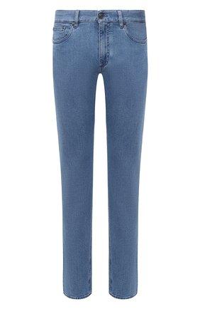 Мужские джинсы ERMENEGILDO ZEGNA голубого цвета, арт. UWI70/JS01 | Фото 1