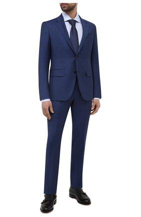 Мужской шерстяной костюм ERMENEGILDO ZEGNA синего цвета, арт. 922563/22FTKY | Фото 1