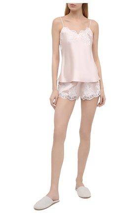 Женская шелковая пижама LISE CHARMEL светло-розового цвета, арт. ALC4280-ALC0180 | Фото 1