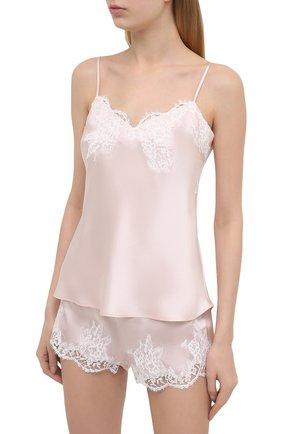 Женская шелковая пижама LISE CHARMEL светло-розового цвета, арт. ALC4280-ALC0180 | Фото 2