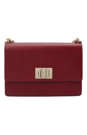 Женская сумка furla 1927 FURLA красного цвета, арт. BAFIACO/ARE000   Фото 1
