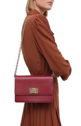 Женская сумка furla 1927 FURLA красного цвета, арт. BAFIACO/ARE000   Фото 2