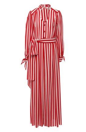 Женское шелковое платье DOLCE & GABBANA красного цвета, арт. F6H2DT/IS1AM | Фото 1