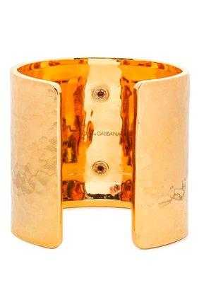 Женский браслет DOLCE & GABBANA золотого цвета, арт. WBM6P2/W1111   Фото 2