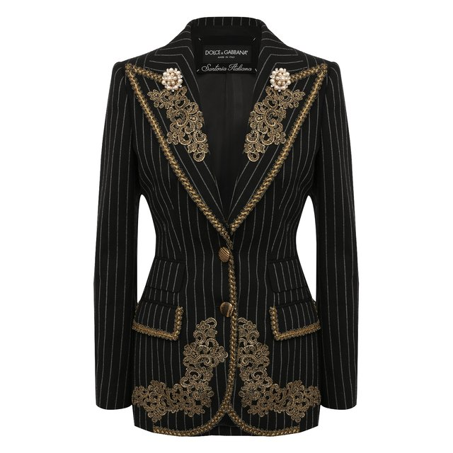 Шерстяной жакет Dolce & Gabbana