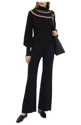 Женский шерстяной пуловер CHLOÉ разноцветного цвета, арт. CHC21SMP76520   Фото 2