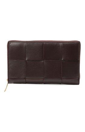 Кожаный кошелек Maxi Intreccio | Фото №1