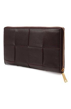 Кожаный кошелек Maxi Intreccio | Фото №2