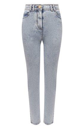 Женские джинсы BALMAIN голубого цвета, арт. VF15460/D097 | Фото 1