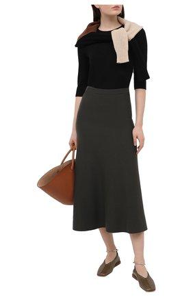 Женский пуловер VINCE черного цвета, арт. V716978675 | Фото 2