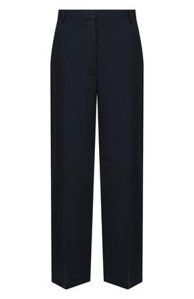 Женские шерстяные брюки LANVIN темно-синего цвета, арт. RW-TR528U-4794-P21 | Фото 1