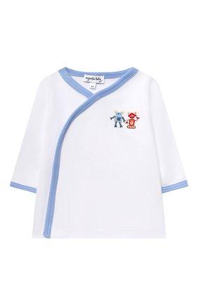 Детский комплект из распашонки и ползунков MAGNOLIA BABY голубого цвета, арт. 974-735P-LB | Фото 2
