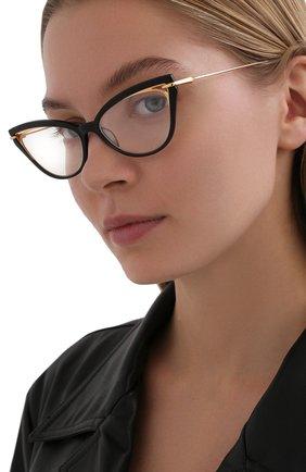 Женские оправа DITA черного цвета, арт. ARTCAL/01 | Фото 2