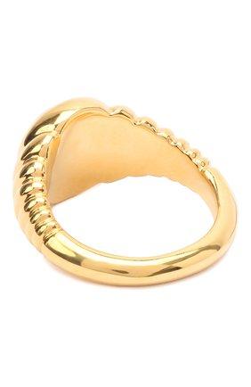 Женское кольцо COPINE JEWELRY золотого цвета, арт. PETRA18 | Фото 2