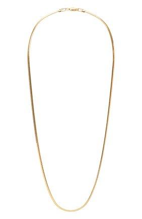 Женское цепь JEWLIA золотого цвета, арт. НЦ 22-097-5   Фото 1 (Материал: Серебро)