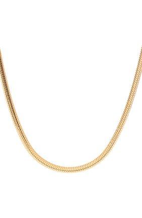 Женское цепь JEWLIA золотого цвета, арт. НЦ 22-097-5   Фото 2 (Материал: Серебро)