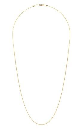 Женское цепь JEWLIA золотого цвета, арт. НЦ 22-097-6   Фото 1 (Материал: Серебро)