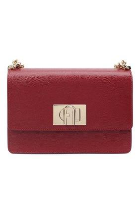Женская сумка furla 1927 mini FURLA красного цвета, арт. BAFKACO/ARE000   Фото 1
