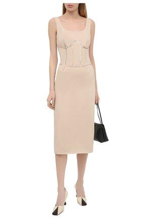 Женское платье RUBAN бежевого цвета, арт. RCSS21-12.2.54.3 | Фото 2