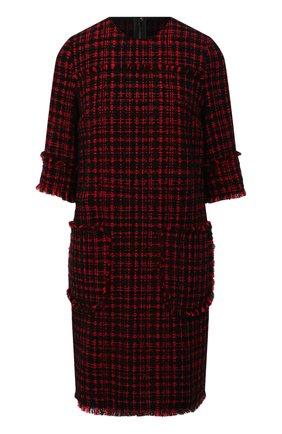 Женское платье DOLCE & GABBANA красного цвета, арт. F6H1VT/FMMFQ | Фото 1