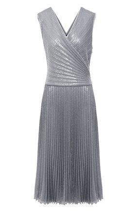Женское платье RALPH LAUREN серого цвета, арт. 290815931 | Фото 1