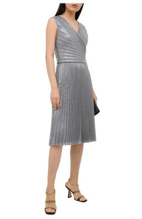 Женское платье RALPH LAUREN серого цвета, арт. 290815931 | Фото 2
