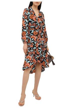 Женские кожаные мюли tropea GIANVITO ROSSI светло-бежевого цвета, арт. G19060.70RIC.NAPM0US | Фото 2
