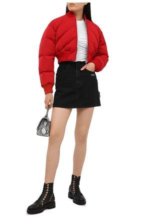 Женские кожаные ботинки GIANVITO ROSSI черного цвета, арт. G73368.20G0M.CLNNER0 | Фото 2
