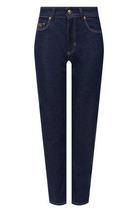 Женские джинсы VERSACE JEANS COUTURE темно-синего цвета, арт. A1HWA0SI-WDP501/AQ954 | Фото 1
