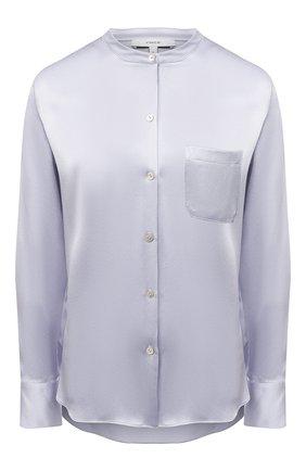 Женская шелковая блузка VINCE голубого цвета, арт. V718012244 | Фото 1