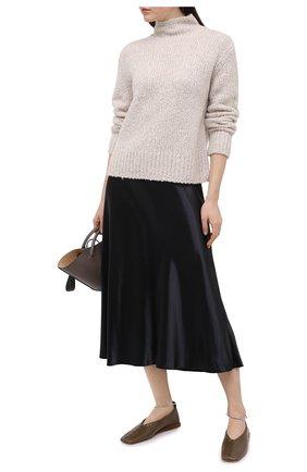 Женский свитер VINCE светло-бежевого цвета, арт. V717878624 | Фото 2