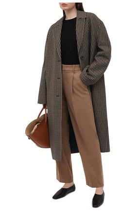 Женские брюки VINCE коричневого цвета, арт. V717721921 | Фото 2