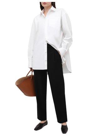 Женские брюки VINCE черного цвета, арт. V700421906 | Фото 2