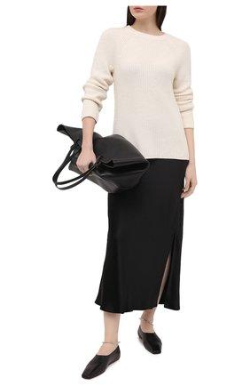 Женская юбка VINCE черного цвета, арт. V693930625 | Фото 2