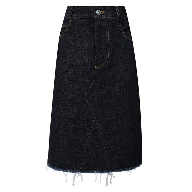 Джинсовая юбка Bottega Veneta
