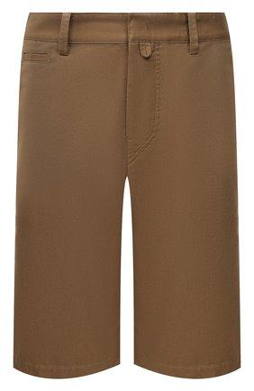 Мужские хлопковые шорты ISABEL MARANT хаки цвета, арт. SH0217-21P014H/L0RIAN | Фото 1