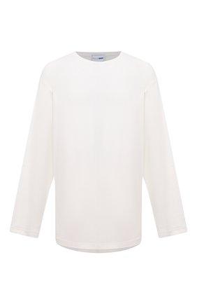 Мужская хлопковый лонгслив ZILLI SPORT белого цвета, арт. MFU-13075-447782/0001/4XL-8XL | Фото 1